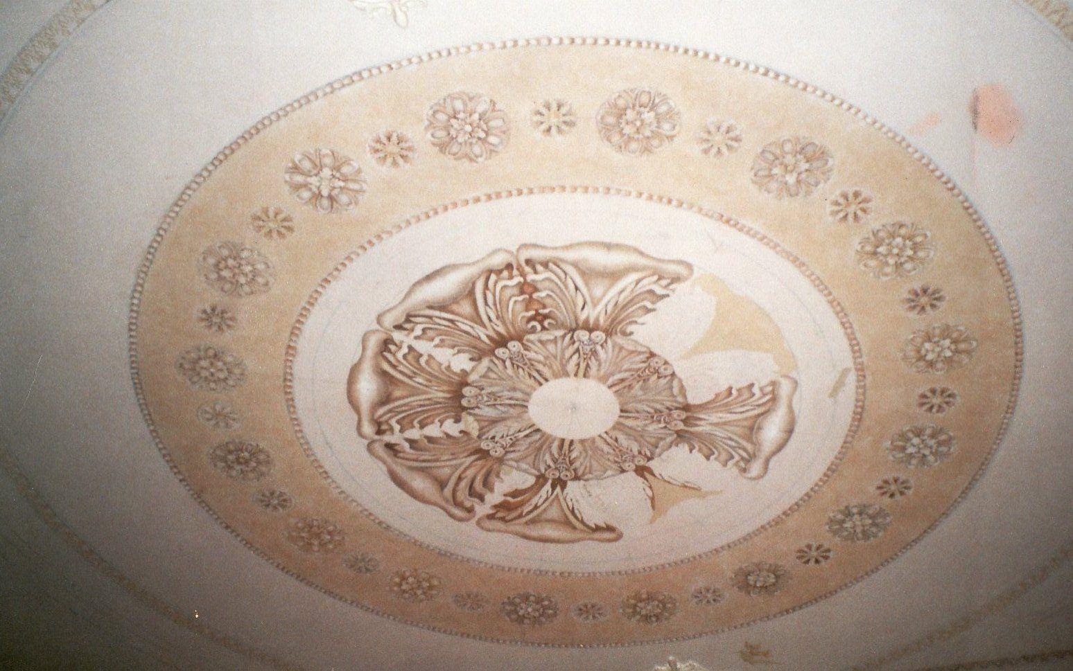 Peinture l 39 huile sur plafond - Peinture a l huile pour plafond ...